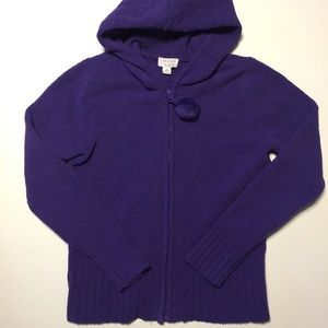 1989 Place Girls Hooded Cardigan